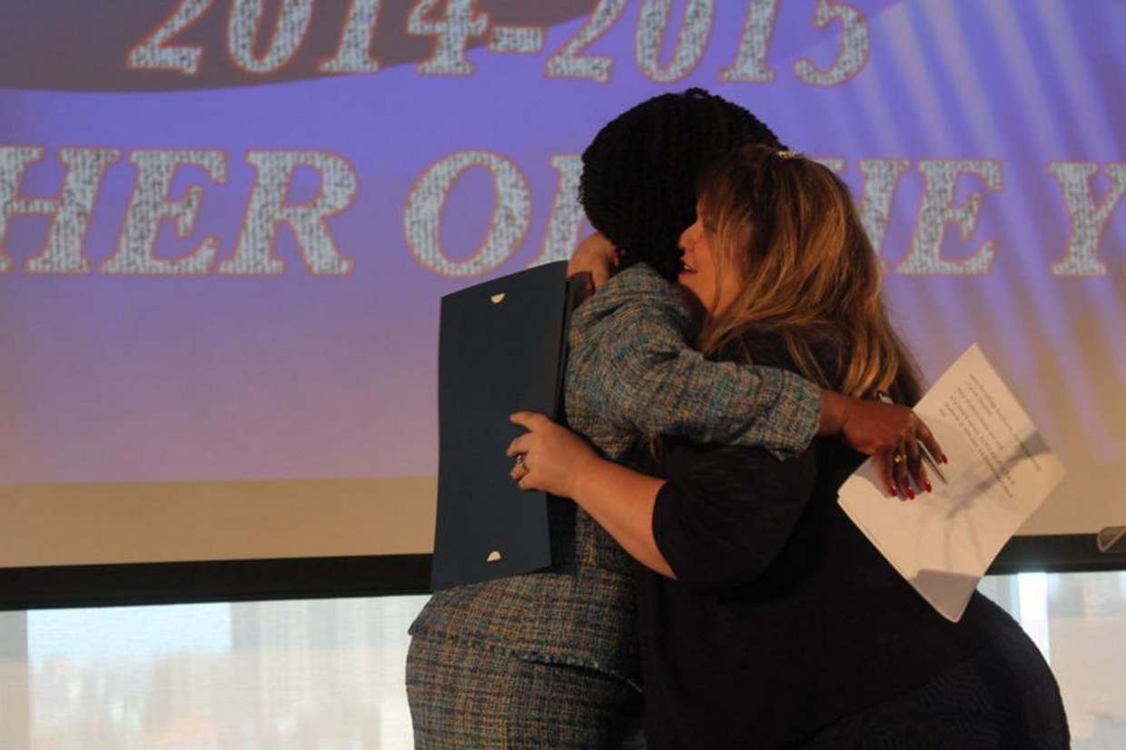40 teachers from Jersey City schools were honored with Teacher of the Year awards.