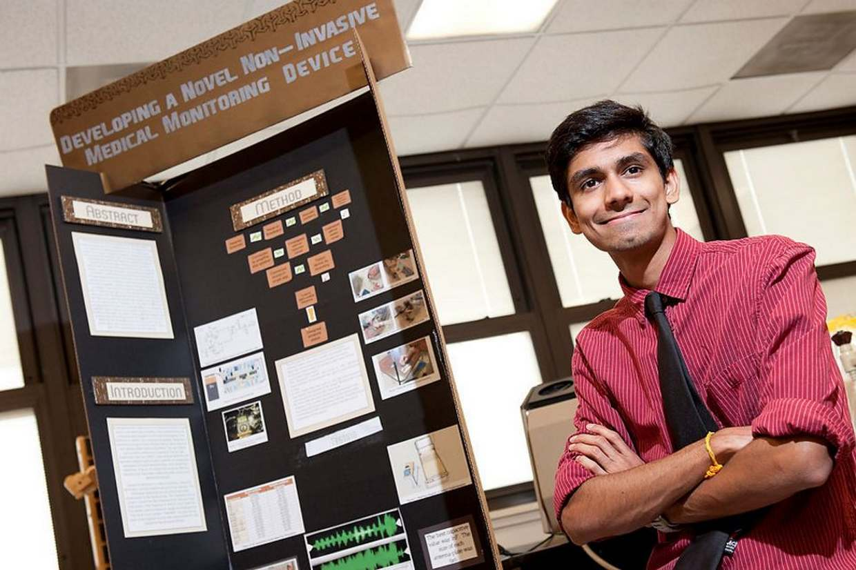Local High School student makes local news in NJ by competing in the Intel International Science and Engineering Fair in Pittsburg, Pa.