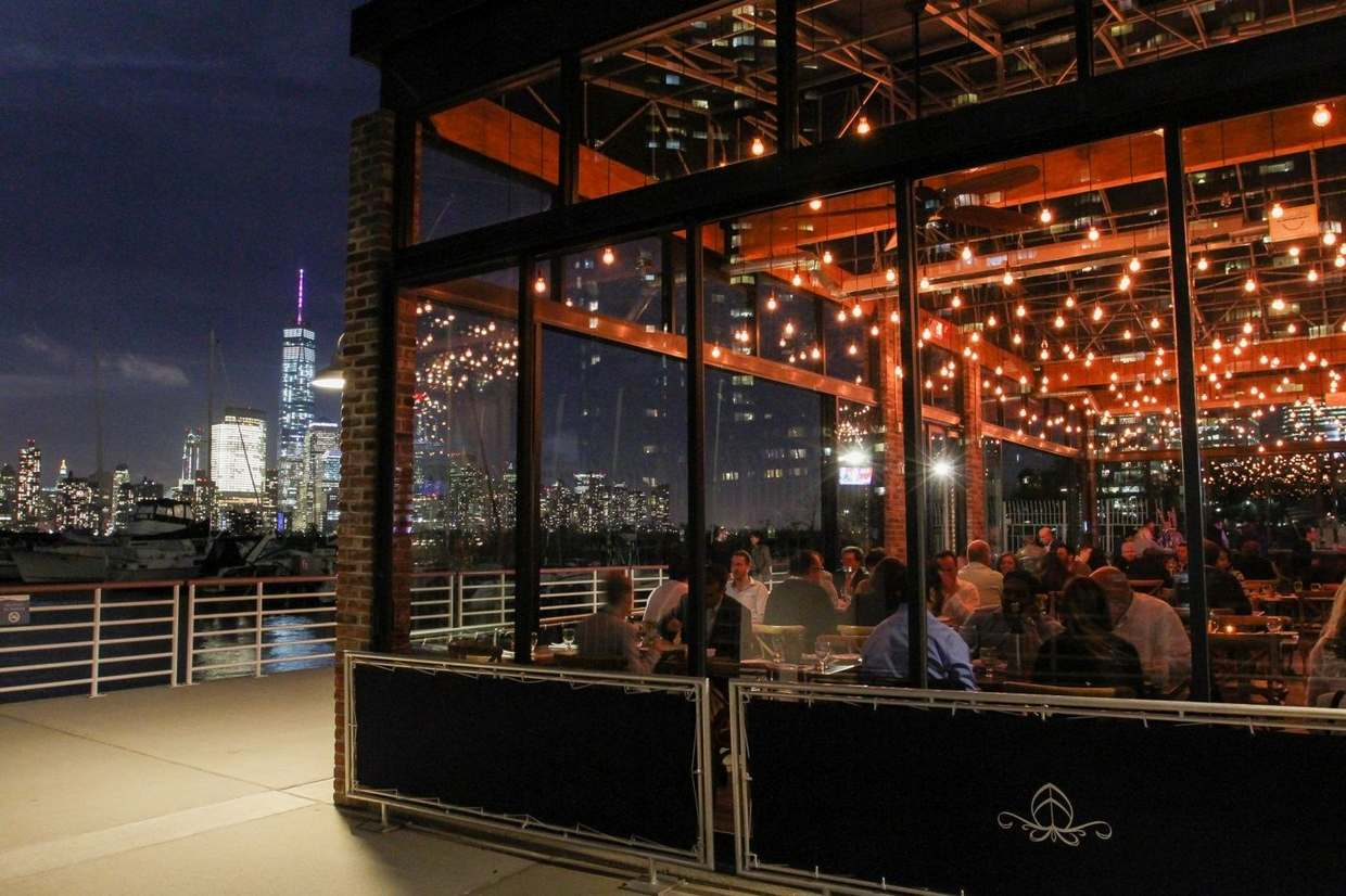 Enjoy the warmer weather with these top restaurants in Jersey City for outdoor dining.