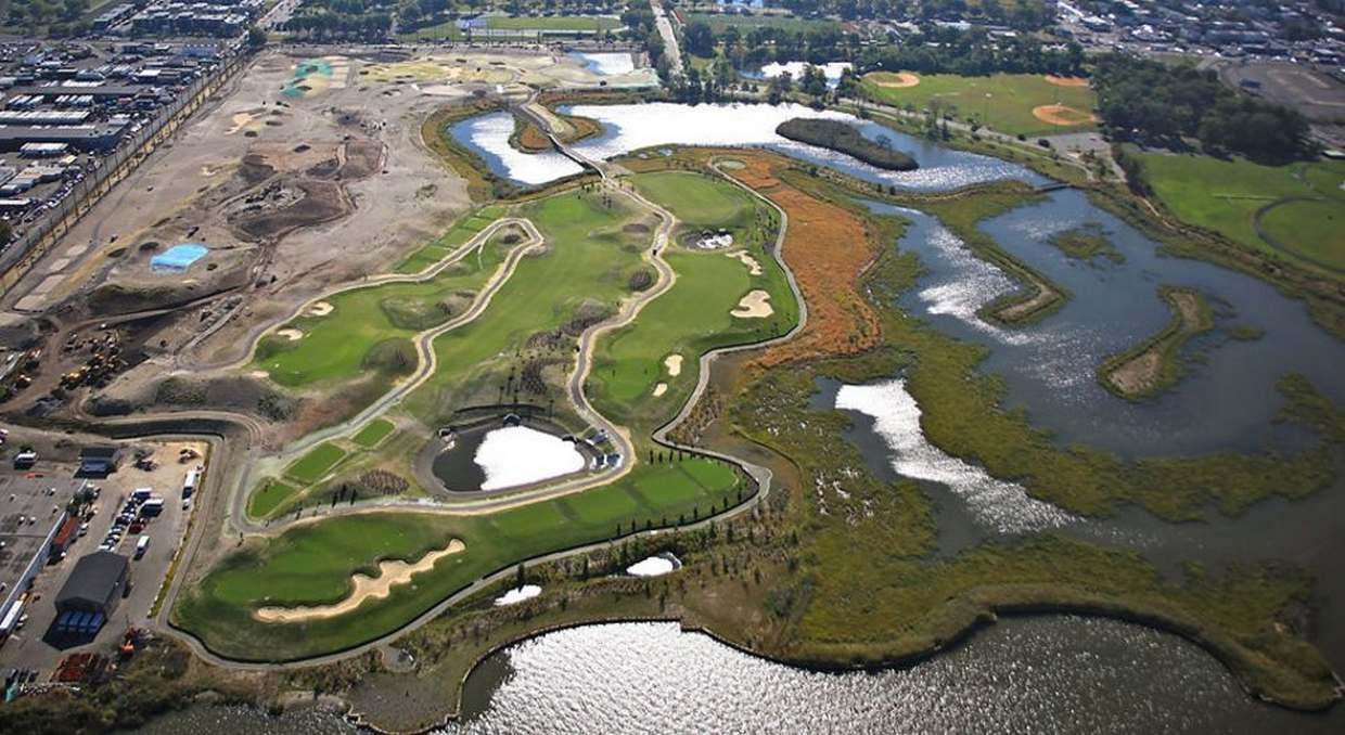 Enjoy outdoor activities in NJ this summer with the opening of Jersey City�s first golf course.