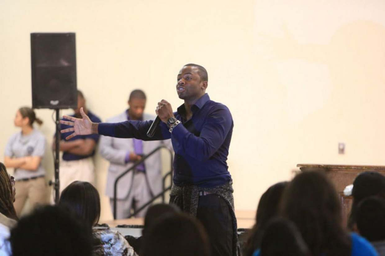 Fox�s hit TV series actor and once local Jersey City resident Derek Luke shares motivational message to Jersey City community.