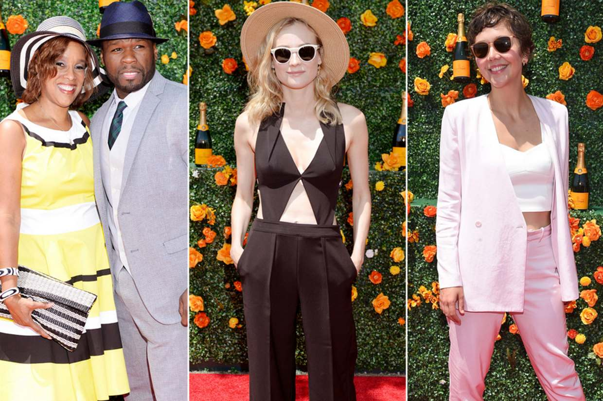 The eight annual Veuve Clicquot Polo Classic in Jersey City brought a star-studded guest list this year.