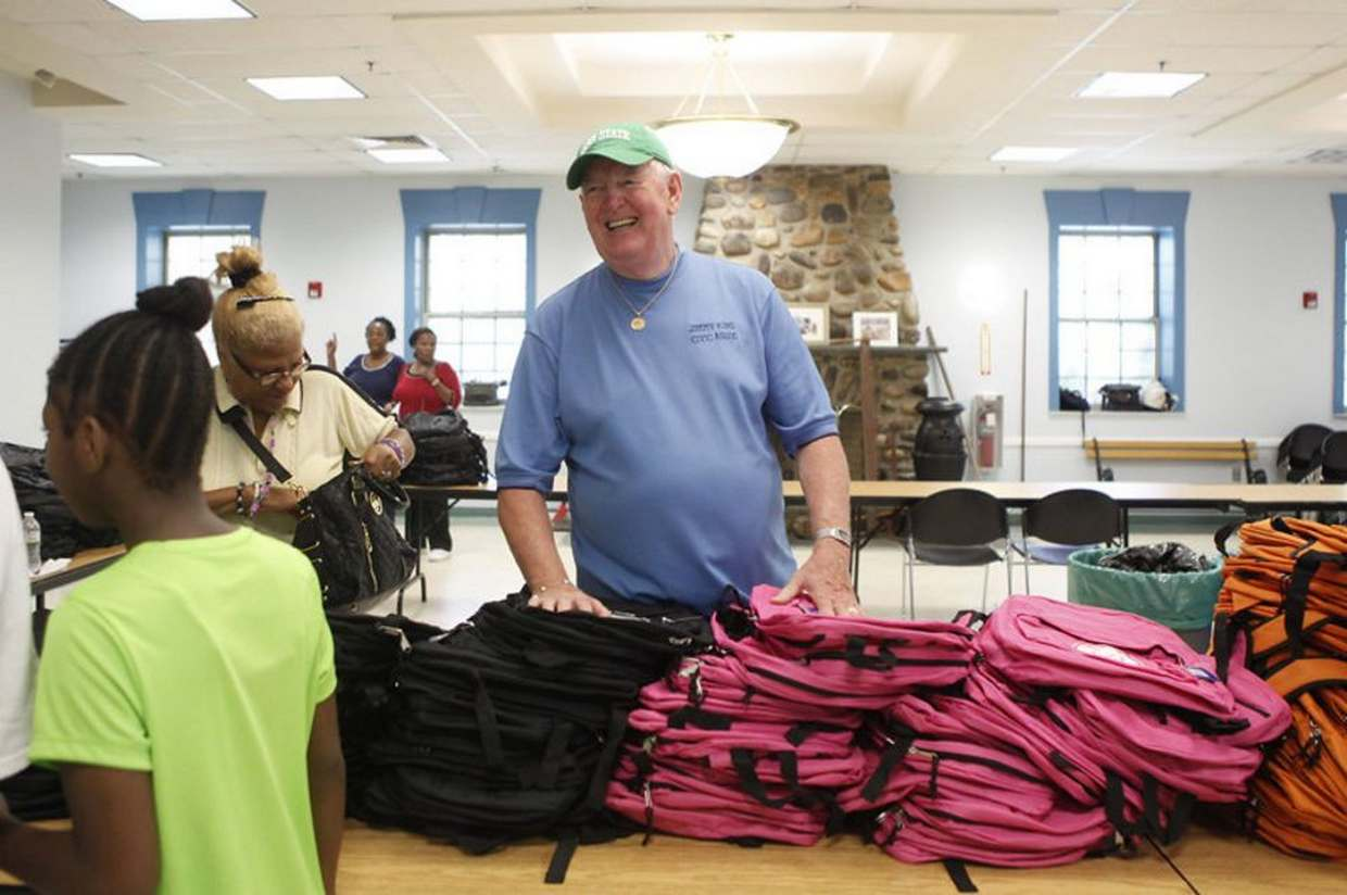 NJ non-profit event brings free backpacks to Jersey City students in need.