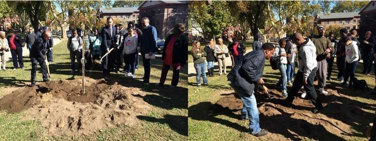 Jersey City community plants trees for �Bigger Dig 2020�