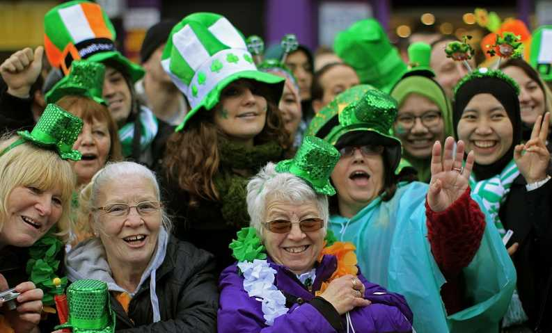 St. Patrick�s Day in Jersey City