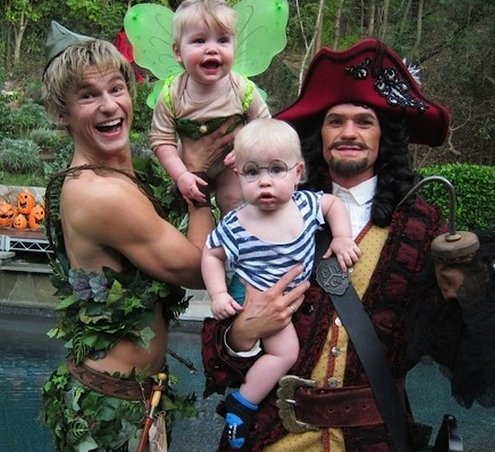 Peter Pan Themed Family Halloween Costumes in NJ