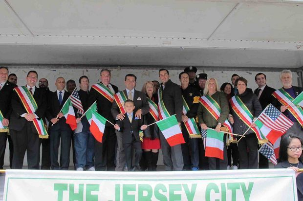 Jersey City Community Celebrates Columbus Day Parade