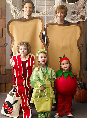 BLT Themed Family Halloween Costumes in NJ
