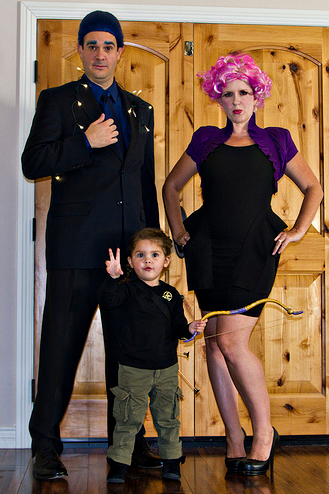 Hunger Games Themed Family Halloween Costumes in NJ